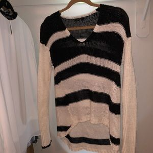 RDI High/Low cable knit sweater.